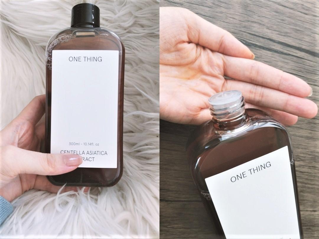 【韓国スキンケア】ONE THING(ワンシング)のツボクサエキス化粧水
