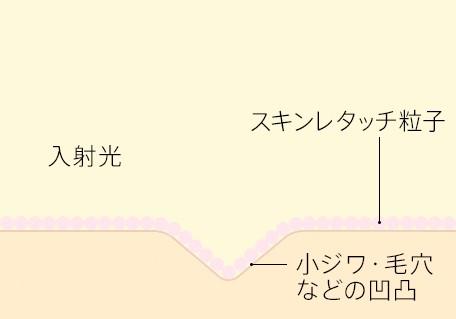 スキンレタッチ粒子